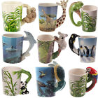 Novelty Animal Shaped Handle Ceramic China Mug Tea Coffee Cup Gift Boxed