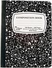 Kyпить Composition/Notebook Book,Wide Ruled Paper,100 Sheets 9-3/4