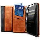 For Samsung Galaxy A10e A20 A50 Leather Magnetic Flip Card Holder Wallet Case