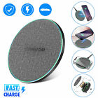 Qi Universial Wireless Fast Charging Charger Pad Mat Dock For Mobile Cell Phone