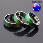 18k White Gold Plated Mood Temperature Colour Changing Emotion Feeling Rings