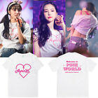 Kpop Apink T-SHIRT Welcome to Pink World Concert Tshirt Unisex Contton TEE image