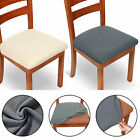 2/4Pcs/Set Spandex Stretch Chair Seat Covers Removable Stretchable Cushion Cover