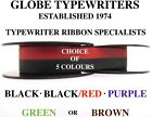 HERMES 305 HIGH QUALITY 10 METRE TYPEWRITER RIBBONCHOICE OF 5 COLOURS