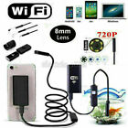 1M 8LED WIFI Endoscope Waterproof Borescope Inspection Camera Various Smartphone