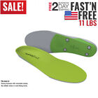 Superfeet GREEN Insoles Professional-Grade High Arch Orthotic Insert for Support