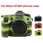For Nikon D7200 Camera Bag Soft Silicone Rubber Protective Body Cover Case Skin