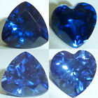 Lab Created Blue Sapphire Trillion Faceted Loose Gems Fince Cut AAA  4mm-8mm