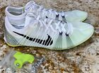 NIKE Victory Elite Carbon WHITE Black Vol Mid Distance Track Spike Shoes Mens 12 $156.66 USD on eBay