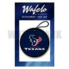 Custom Houston Texans NFL Wafelo Air Freshener Car And Home Fragrances $15.02 USD on eBay