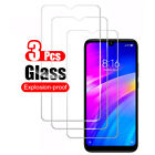 For Xiaomi Redmi 8 8A 7 7A 6 6A 5 Tempered Glass Screen Protector Film [3-Pack]