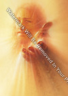 Kyпить JESUS CHRIST With Outstretched Hand Matted/Unmatted Print Religious Art R13 на еВаy.соm