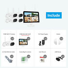 ANRAN Wireless Home CCTV Security Camera System Outdoor 8CH 1TB HDD 12