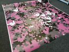 PINK DIGITAL CAMOUFLAGE Vinyl Wrap, Matte, Vehicle Wrap for Car, Truck, & Boat