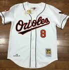 AUTHENTIC Mitchell and Ness Baltimore Orioles Cal Ripken white jersey on Ebay