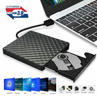 Slim Portable USB 3.0 Ultra External DVD-RW CD-RW Burner Writer Drive For PC MAC