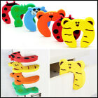 5/10/15 pcs Baby Safety Cartoon Gate Card Security Door Stopper Protection Clamp