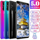 "X27 X27 Plus/5.0"" 5.8"" Full Screen Android 8.0 Smartphone Dual SIM Mobile Phone"