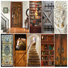 Us Ship 3d Ancient Egypt Rustic Barn Door Sticker Decal Self-adhesive Wrap Mural