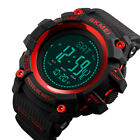 SKMEI Men's Digital Sports Outdoor Wrist Watch with Altimeter Barometer Compass image