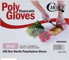 Kyпить Choice 100-Count Lg / Med / Small Disposable Food Handler Cafeteria Poly Gloves  на еВаy.соm