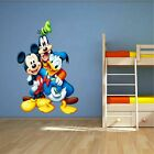 Mickey mouse, Donald duck, Goofy 3D WALL STICKER decor KIDS DECAL Window 7063