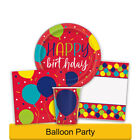 BALLOON PARTY Birthday Party Range - Tableware & Decorations Supplies