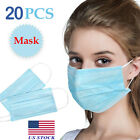 Kyпить NEW 20PCS 3-Layers Cloth Fabric Face Mouth Masks - IN STOCK ! на еВаy.соm