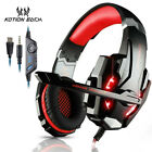 EACH G9000 3.5mm Gaming Headset USB LED Stereo for PC with Mic High Quality USA