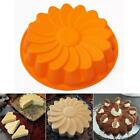 DIY Sunflower Flower Mould Silicone 3D  Fondant Cake Mold Decorating Tools N3
