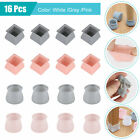 8/16PCS Silicone Chair Leg Caps Feet Cover Pads Furniture Table Floor Protectors