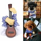 Funny Guitarist Pet Dog Costumes Puppy Halloween Party Costume Clothes Cosplay