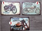 TRIUMPH CLASSIC MOTORCYCLE ACM PRINTED SIGNS A4 (300x210) $15.99 AUD on eBay