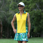 BNWT, Women's Golf Outfit in Green Bling