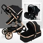 Multifunctional Baby Stroller 3 In 1 Portable High Landscape Folding Carriage