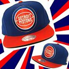 Detroit Pistons snap back hat by Mitchell & Ness on eBay