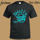 New WEEN Band Rock Band Legend Logo Men's Black T-Shirt Size S to 3XL image
