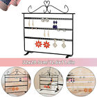 72 Holes Earrings Ear Studs Jewelry Display Rack Stand Organizer Case Holder Box