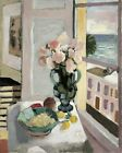 Safrano Roses At The Window By Henri Matisse Painting Paint By Numbers Kit DIY
