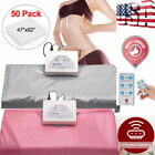 Portable Far Infrared Sauna Blanket Heater Slimming Weight Loss Spa Beaut 50bag