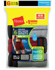 Hanes 6-Pack Boxer Briefs Bonus Mens Sport-Inspired Assorted Value Cool Dri S-XL <br/> Official Hanes Brands Store -- First Quality Authentic