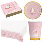 PRINCESS FOR A DAY Birthday Party Range - Girl Tableware Supplies Decorations