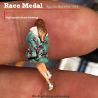 RaceMedal1:64scale figures diorama Bowed their heads girls limited edition