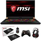 """MSI GS75 Stealth 17.3"""" 144Hz Full HD Core i7-9750H RTX 2070 Max-Q Gaming Laptop"""