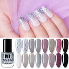 NEE JOLIE 3.5ml Glimmer Nail Polish Purple Gray Nail Art Varnish Tips Decoration