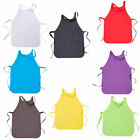 Disposable Non-woven Cloth Children  Apron Art Craft Smock Bib Cartoon Hot N #ev