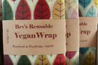 Natural VEGAN Plant Wax Food Wraps | Eco-friendly Reusable Food Storage