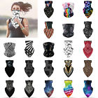Unisex Outdoor Sport Bandana Triangle Scarf Neck Tube Ear Hanging Sun Face Cover
