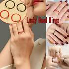 Handmade Red/black String Weave Rope Ring Lucky Gold For Women Rings Copper A1s3
