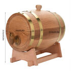NEW Party Wine Dispenser Oak Barrel-1.5/3/5/10 Liter Oak Keg Barrel Rum Whiskey